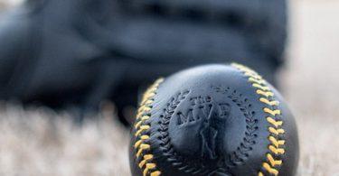 Executive Leather Yellow Stitch Baseball