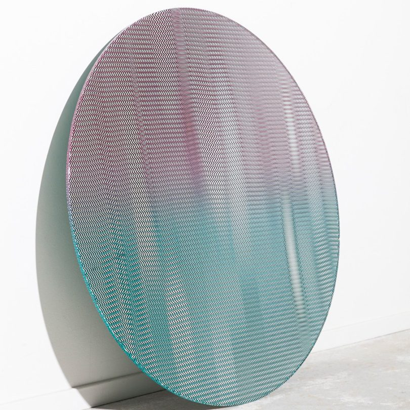 P.O.V. Mirror with Pattern by Ontwerpbureau Nightshop