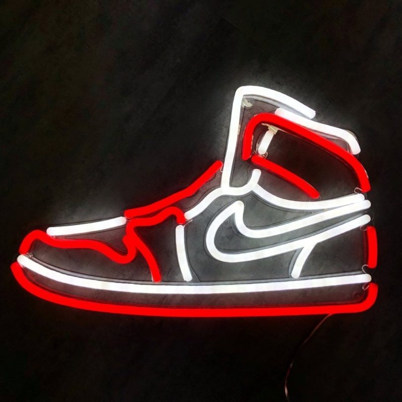 Air Jordan Neon Sign