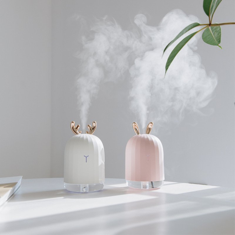 Mini USB 220ml Bedroom Air Humidifier