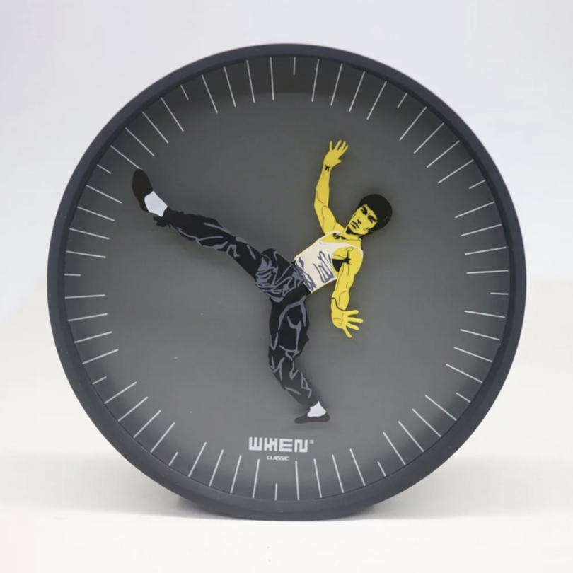 Kung Fu Time Clock
