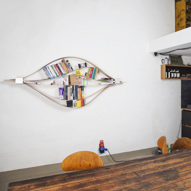 Chuck Flexible Wall Shelf