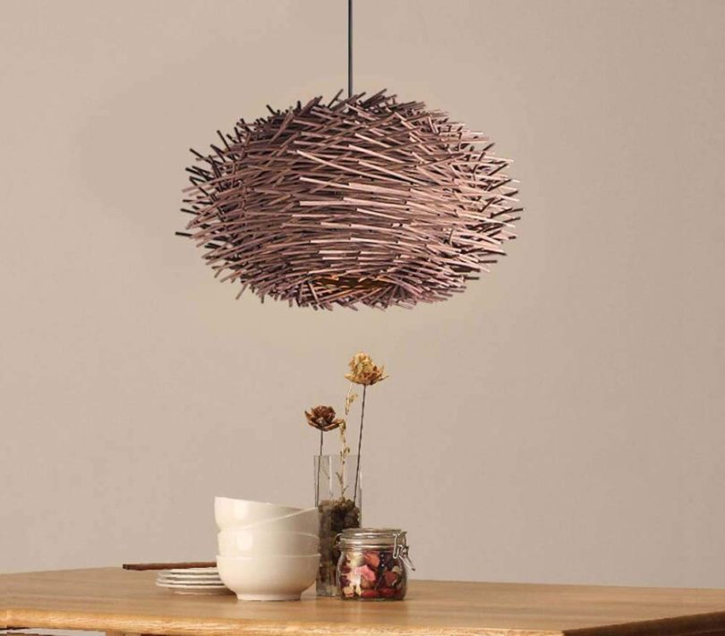 GAOLIQIN Creative Simple Bamboo Art Chandelier