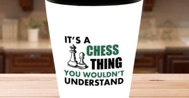 Chess Player Shot Glass