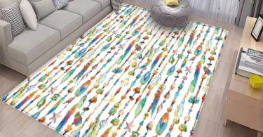 Feather Girls Rooms Kids Rooms Nursery Decor Mats