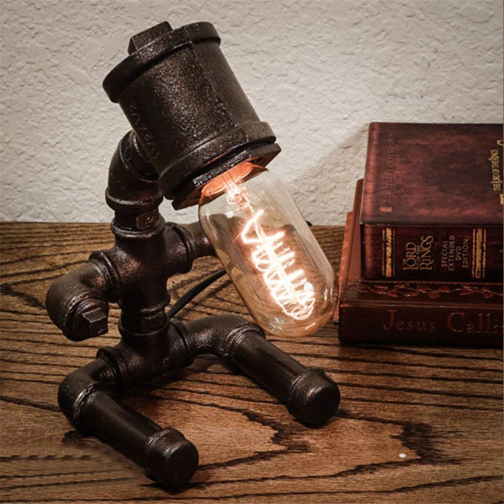 Water Pipe Robot Table Lamp