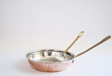 Turkish Traditional Handmade & Handcrafted Copper Pan