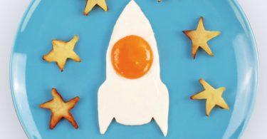 Space Egg Rocket