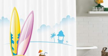Ambesonne Surfboard Decor Collection