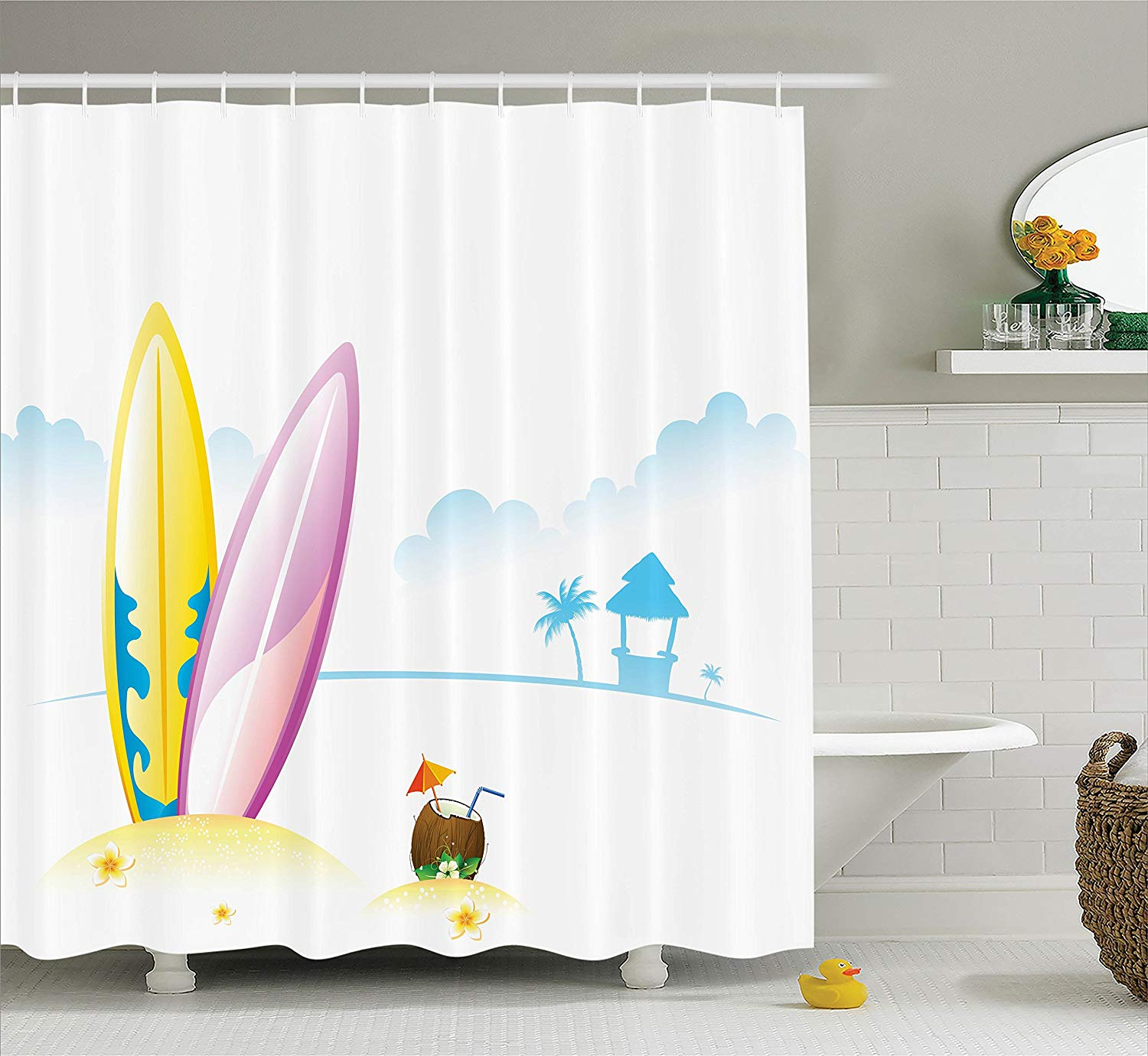 Ambesonne Surfboard Decor Collection » Petagadget