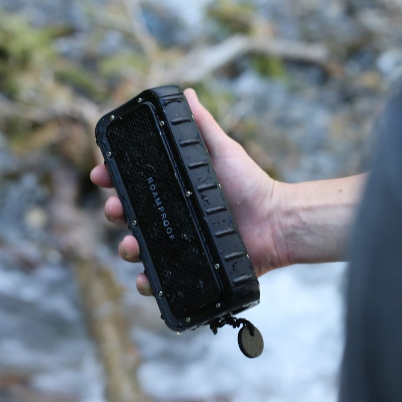 Macroboom Waterproof Solar Bluetooth Speaker