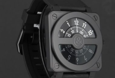 Bell & Ross Men's BR01-92COMPASS Aviation Stainless Steel Watch