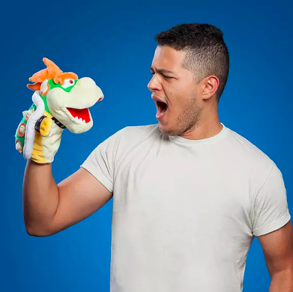Super Mario Bowser Puppet
