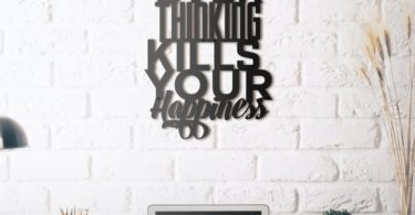 Over Thinking Metal Wall Art