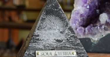 Equinox Pyramid-Crystal Candle by Soul-Terra