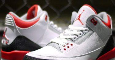Nike Air Jordan 3 Fire Red