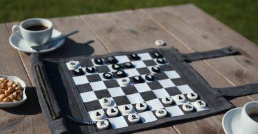 Travel Chess & Checkers Set