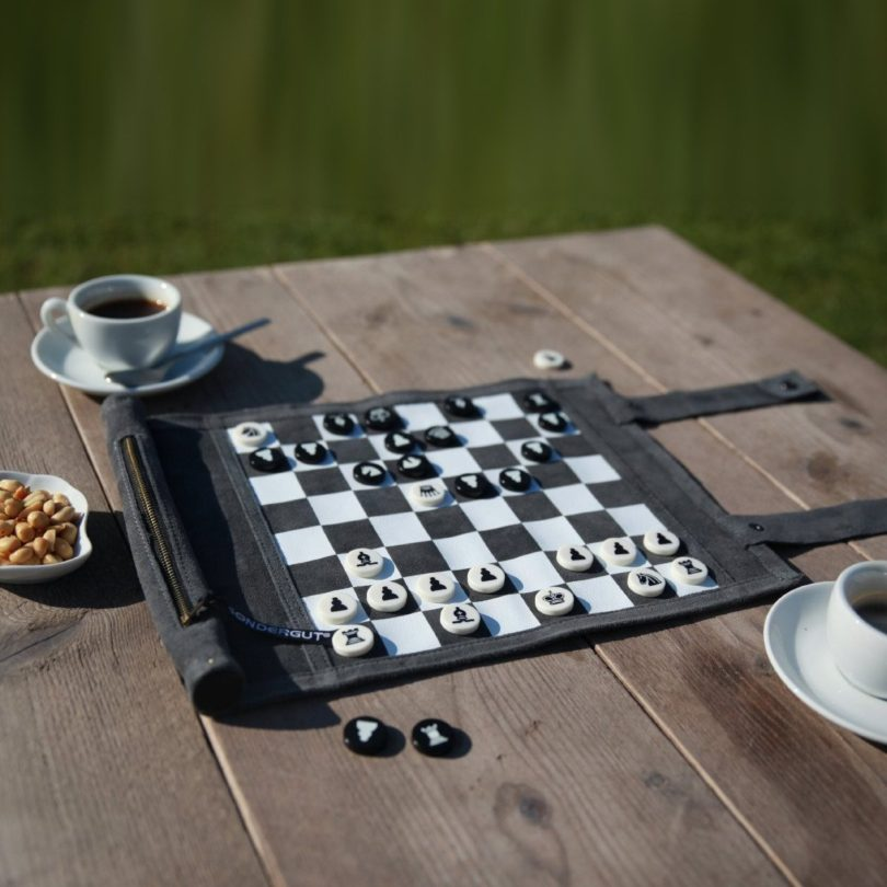 Travel Chess & Checkers Set