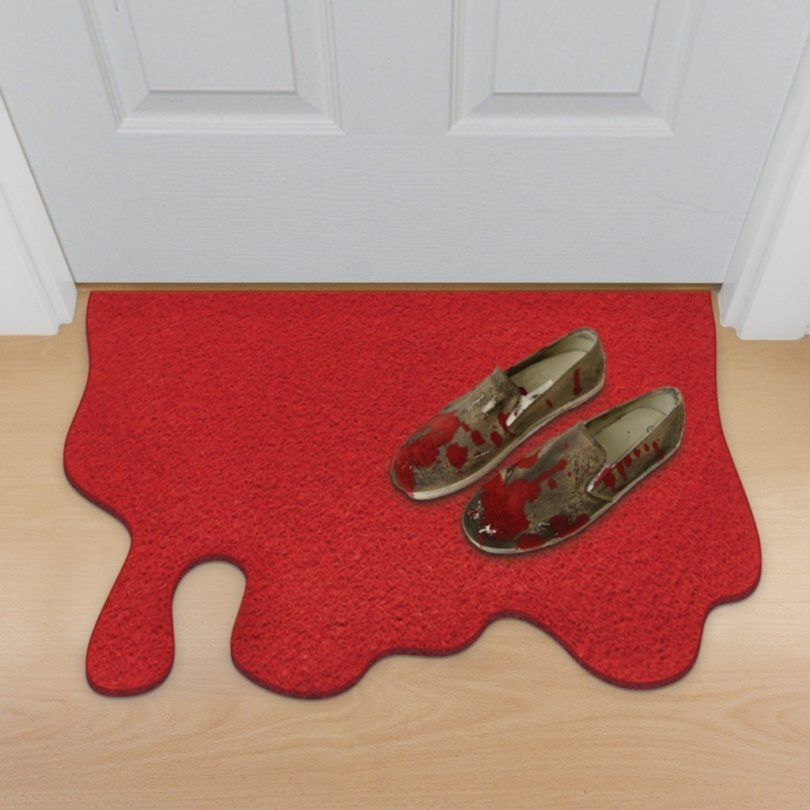 Blood Spill Doormat