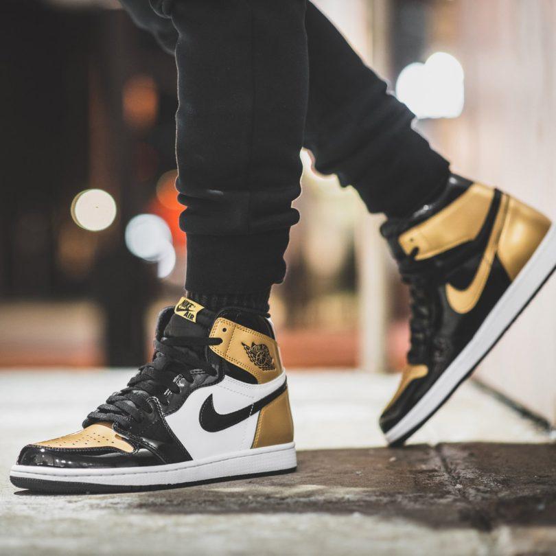Jordan 1 Retro High Gold Top 3