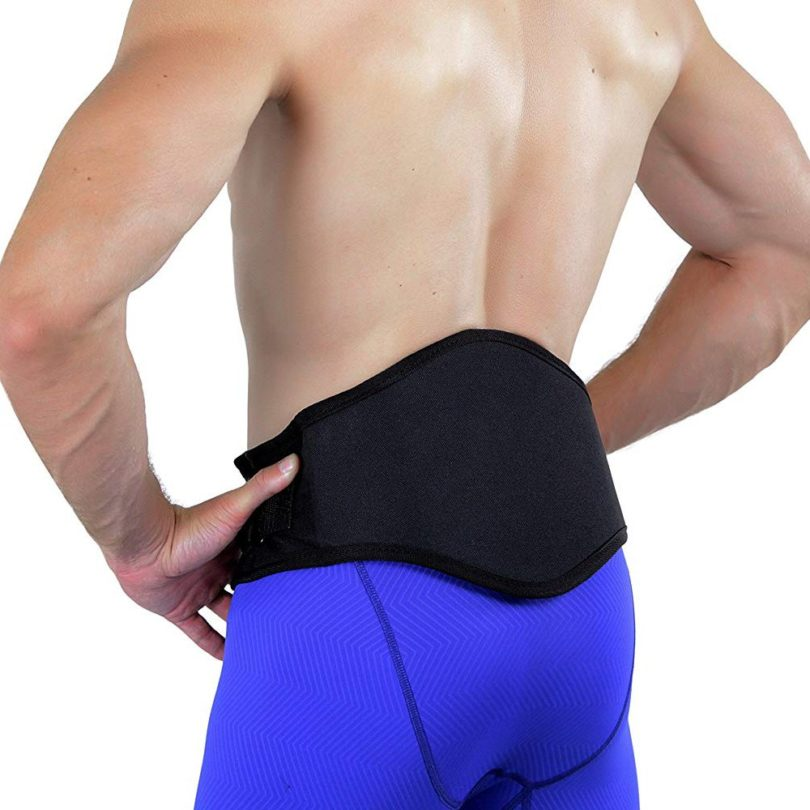 MagSport Back Brace with Premier Niiomed Medical Magnets and Lumbar Pad