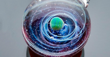 Galaxy Globe Necklace