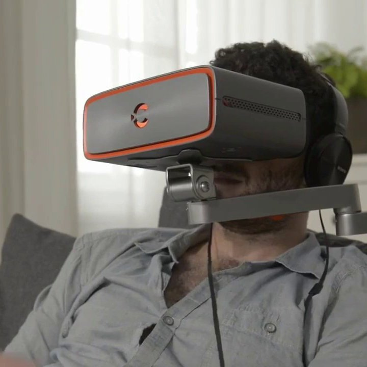 Cinera HD Swivel Arm Mounting 3D VR Headset