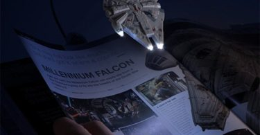 Millennium Falcon Book Light