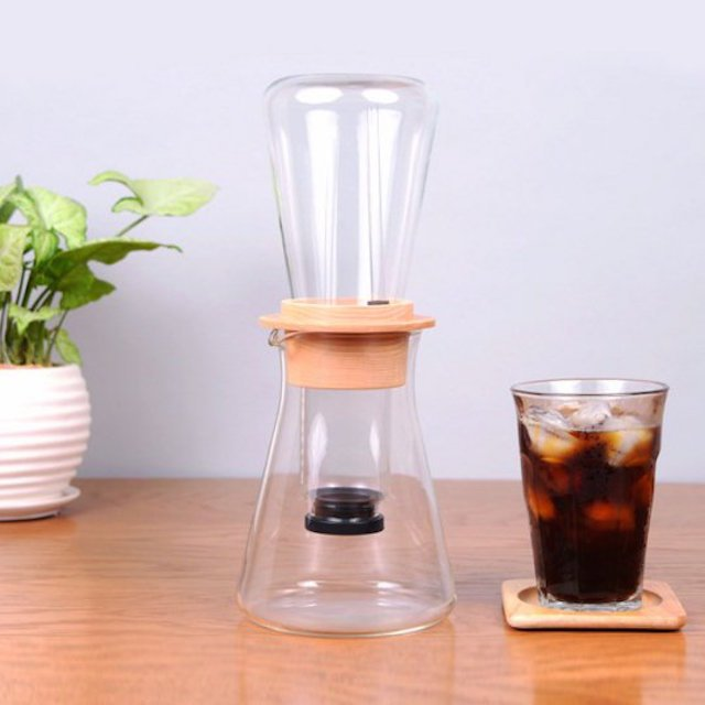 Iwaki Snowtop Drip Coffee Server