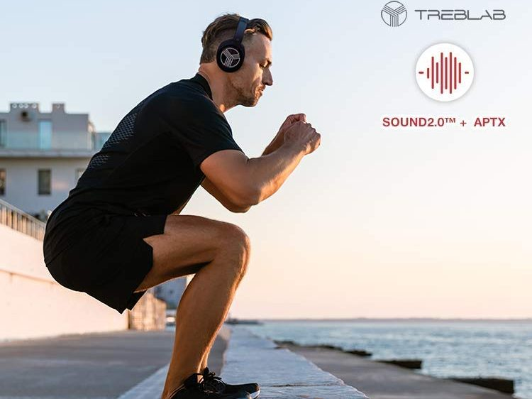 TREBLAB Z2 – Premium Wireless Over Ear Headphones