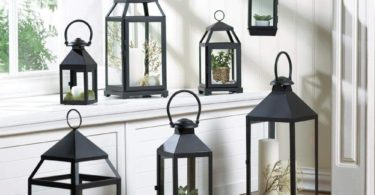 Contemporary Hanging Decorative Lantern Candle Holder