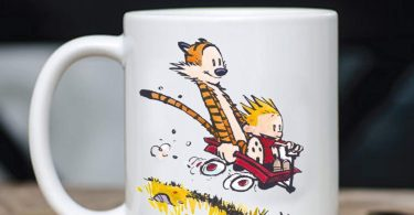 Calvin & Hobbes As Han Solo and Chewbacca Mug