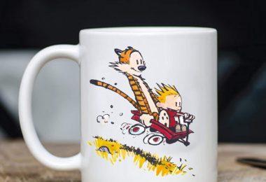 Calvin & Hobbes As Han Solo and Chewbacca Mug