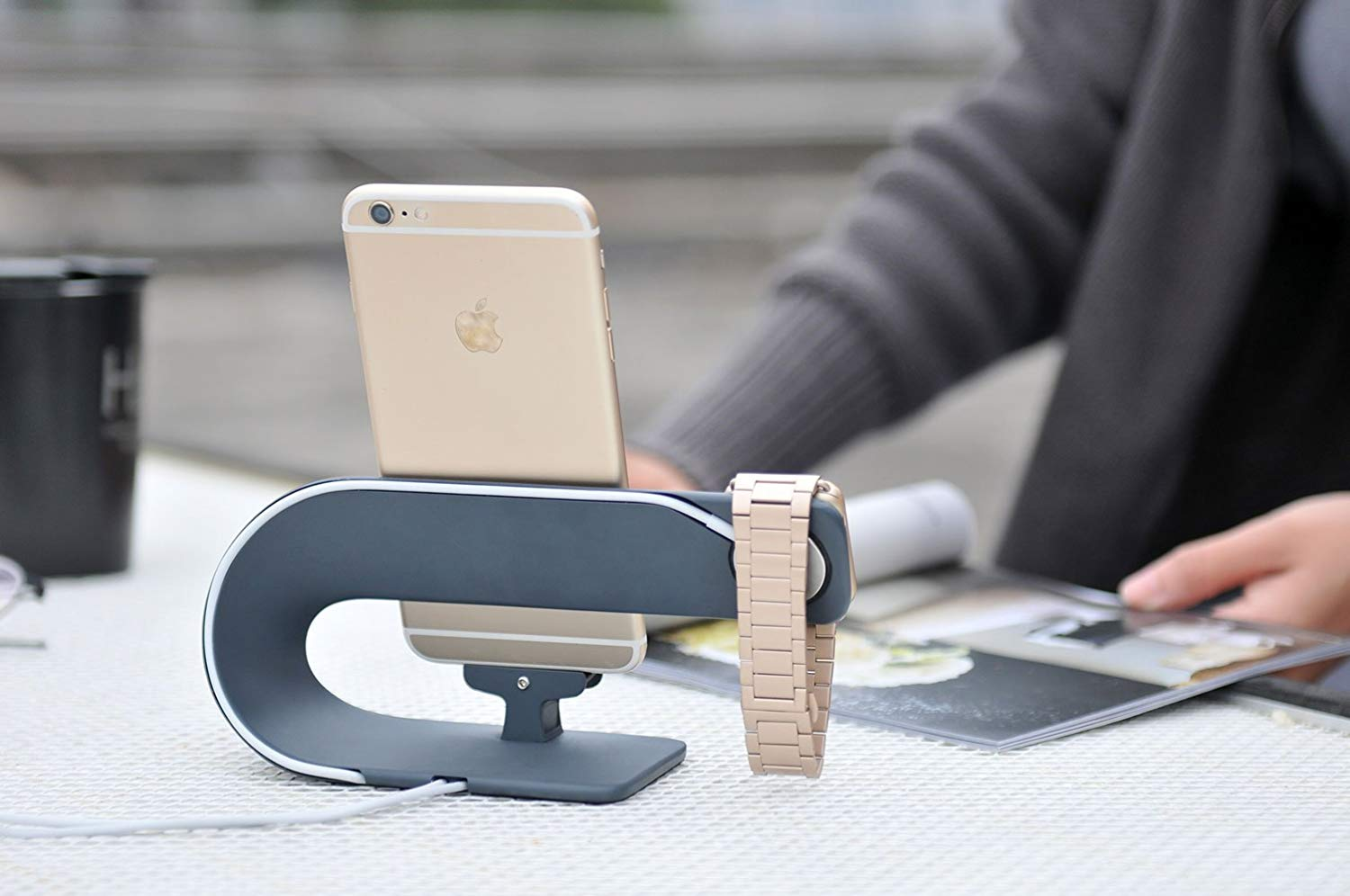 Charging Stand for Apple Watch and iPhone
