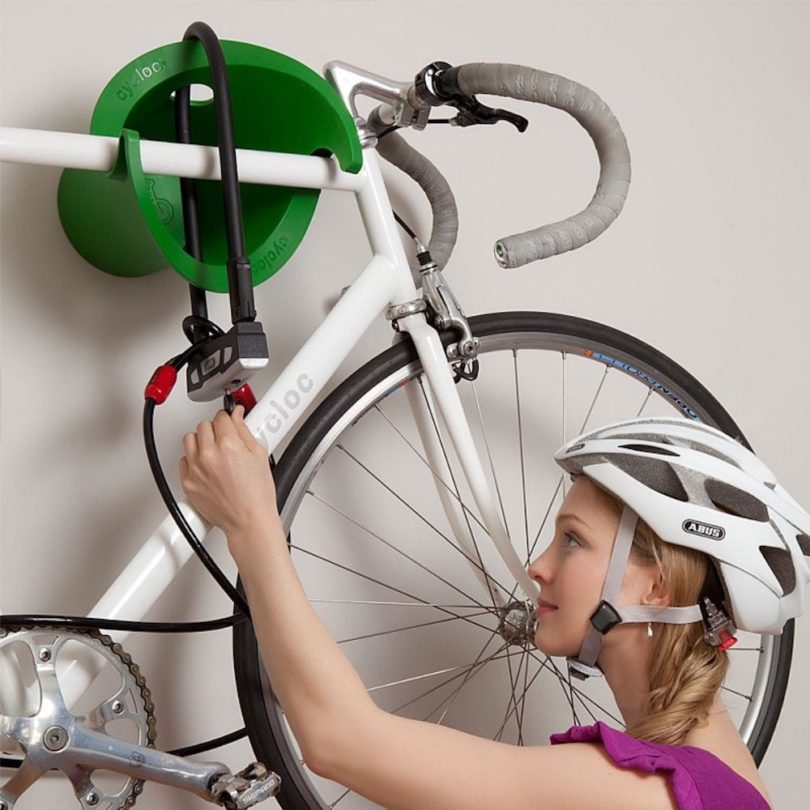 Cycloc Solo – Elegant Wall Mount Bike Storage Rack