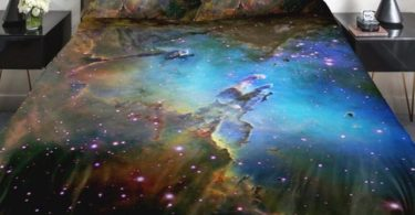 Galaxy Duvet Cover by Anlye Creative