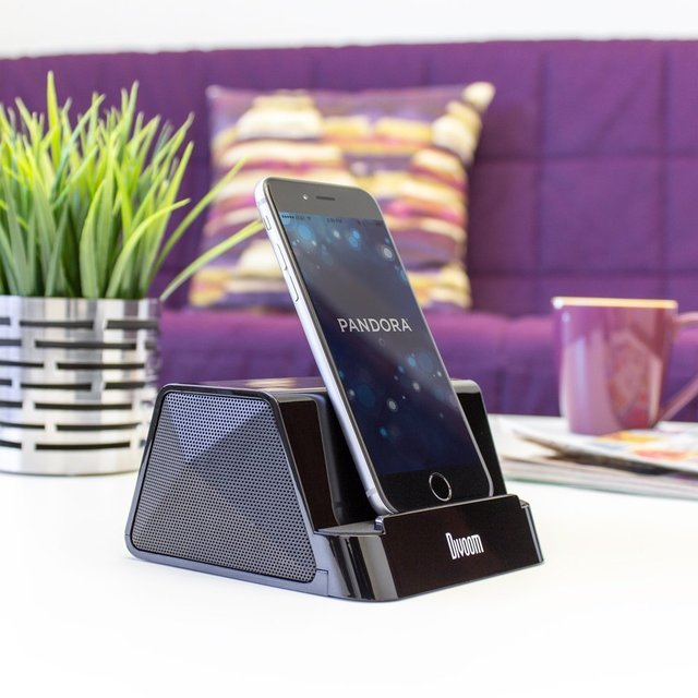 Satechi Portable V1 Rechargeable Speaker Stand for Smartphones & Tablets