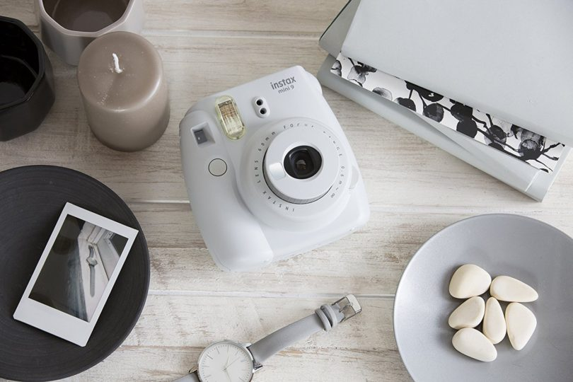 Fujifilm Instax Mini 9 Instant Camera – Smokey White