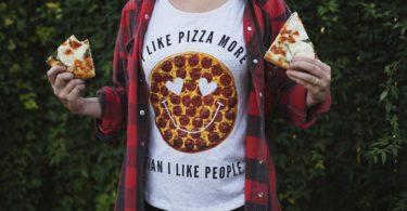 I Like Pizza More Than I Like People Dolman Tee