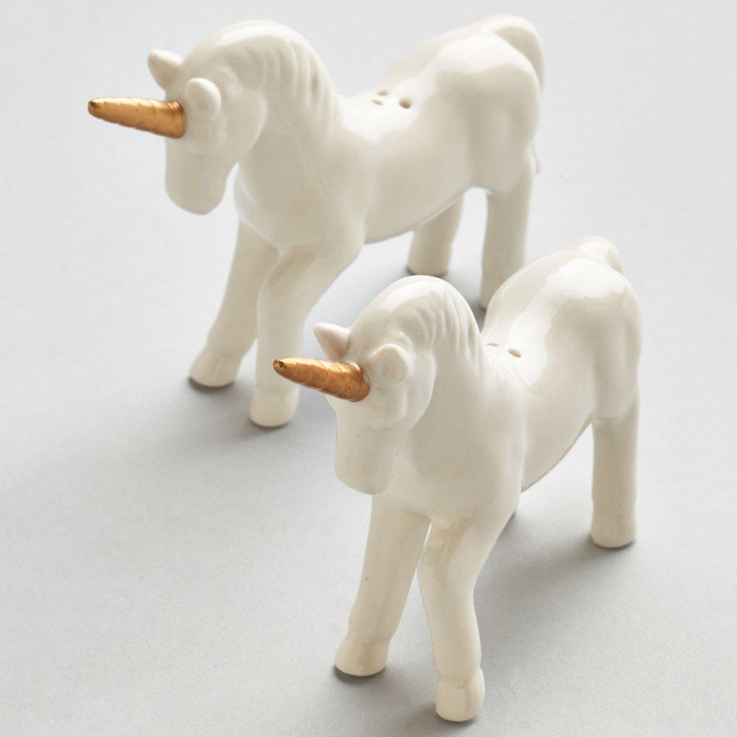 Unicorn Salt & Pepper Shaker Set