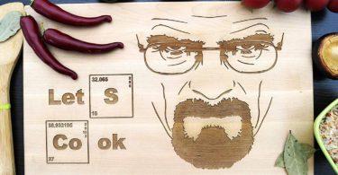 Let's Cook Heisenberg Breaking Bad Cutting Board