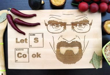 Let's Cook Heisenberg Breaking Bad Cutting Board
