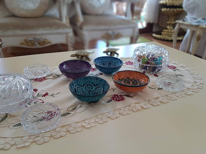 Bead Global Traditional Turkish Decorative Ceramic Bowls ...