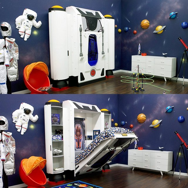 Spaceship Bed