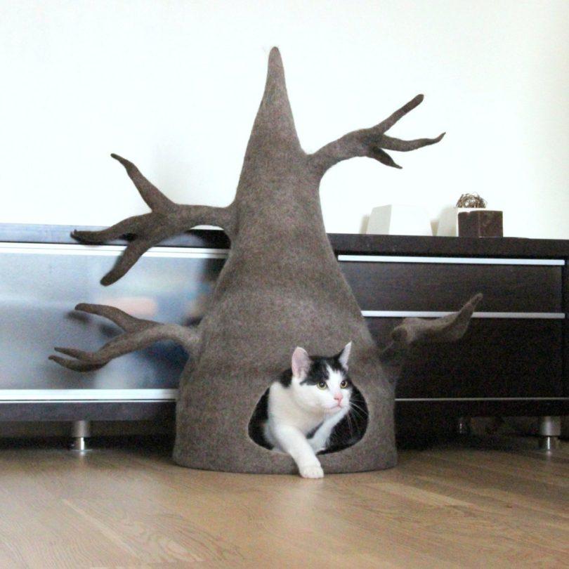 Wool Cat Tree