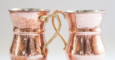Turkish Handmade Copper Mug Set