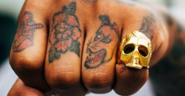 Mister Gold Dead Serious Ring