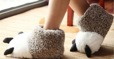 Cotton Paw Slippers