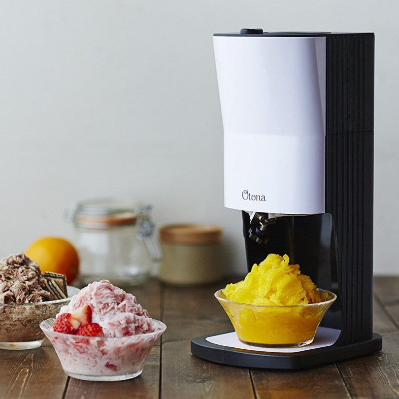 Automatic Taiwanese Snowflake Shaved Ice Snow Cone Machine