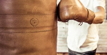 Deluxe Leather Boxing Gloves